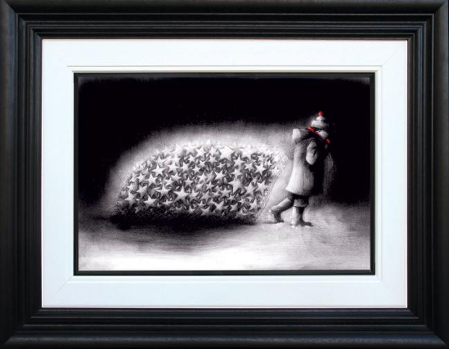 Silent Night - Framed by Doug Hyde