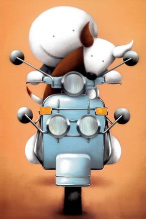 The Modfather - Framed by Doug Hyde