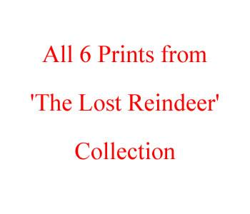 The Lost Reindeer - Complete Set Of 6 by Doug Hyde