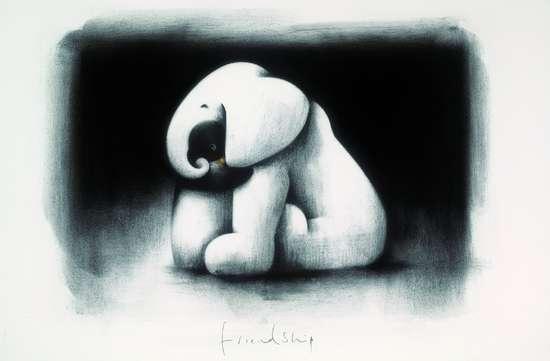 Friendship - Original by Doug Hyde