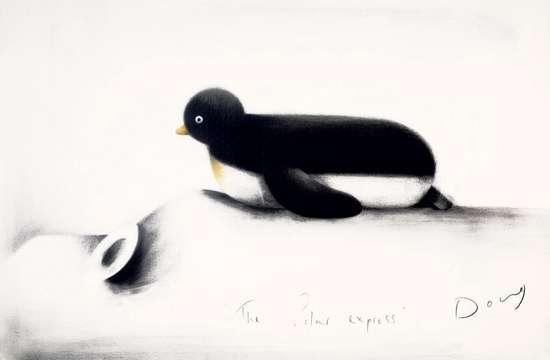 The Polar Express - Original by Doug Hyde