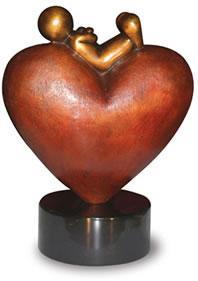 High On Love  - Bronze by Doug Hyde