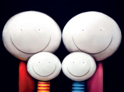 The Family - Mounted by Doug Hyde