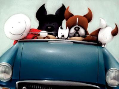 Boy Racers by Doug Hyde