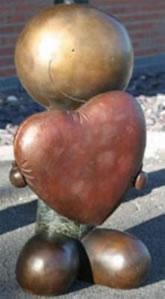 Looking After Love - Sculpture - Bronze by Doug Hyde