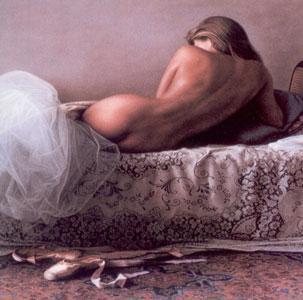 Satin Slippers by Douglas Hofmann
