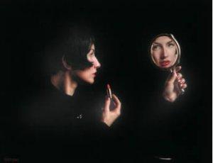 The Girl In The Mirror by Douglas Hofmann