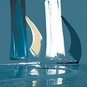 Sparkling Reflections I (Resin Finish) - Unframed