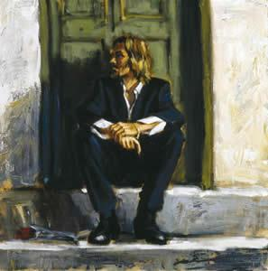 Waiting For The Romance To Come Back - Mounted by Fabian Perez