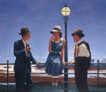 The Game Of Life by Jack Vettriano