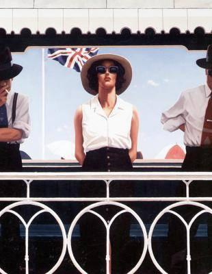 Bird On The Wire by Jack Vettriano
