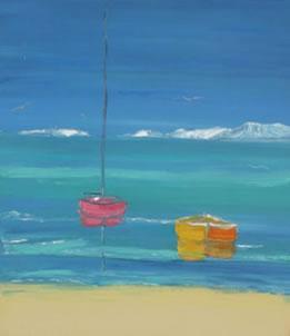Au Bord De La Mer II by Jean Claude Tron