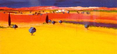 La Lumiere De Provence V by Jean Claude Tron