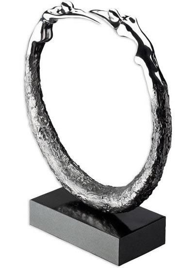 Circle Of Life (Stainless Steel) by Jennine Parker
