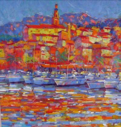 Crystal Harbour by John Holt