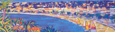 Nice, Cote D'Azur - Mounted by John Holt