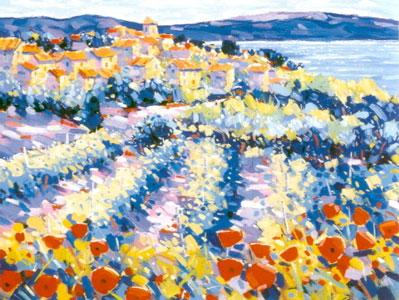 Poppies & Vines Provence by John Holt
