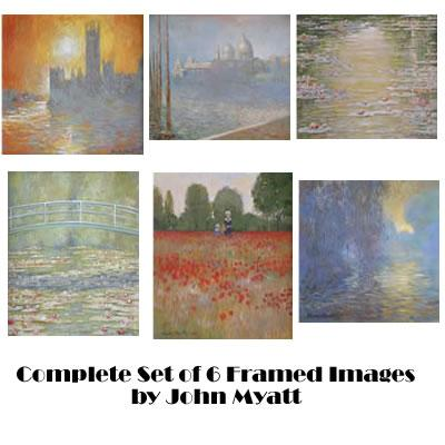 First Collection - Set of 6 by John Myatt