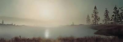 Dreamers Landscape - Mounted by John Waterhouse