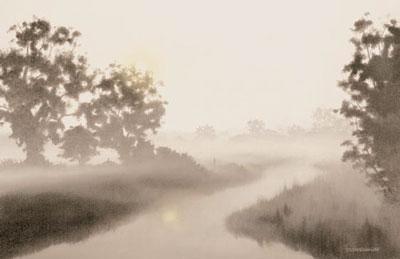Early Reflection by John Waterhouse