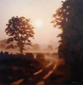 The Lane To The River by John Waterhouse