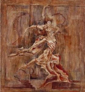 Taming Of The Shrew (Canvas) by Joy Kirton Smith