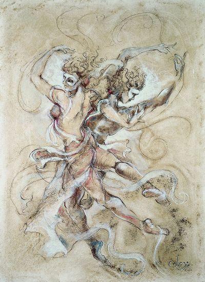 Waterdance II by Joy Kirton Smith