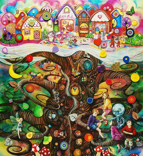 The Magic Faraway Tree by Kerry Darlington