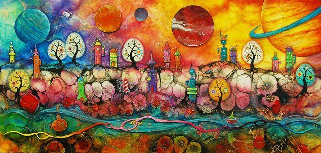 Lollipop Planet by Kerry Darlington