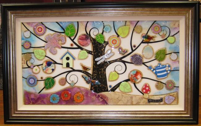 Tree of Harmony Panoramic by Kerry Darlington