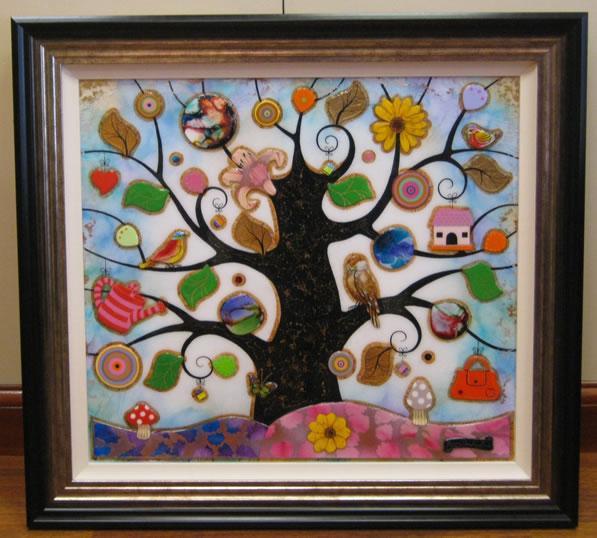 Tree Of Harmony VI - Original by Kerry Darlington