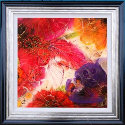 Floral II - Framed by Kerry Darlington