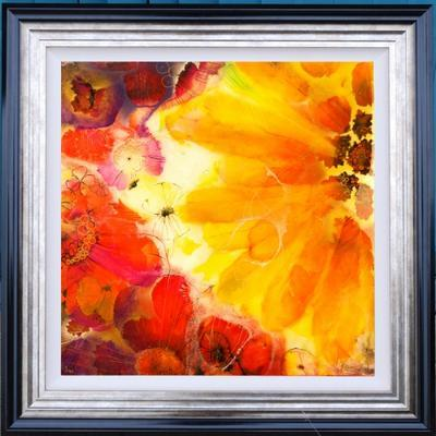 Floral III - Framed by Kerry Darlington