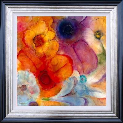 Floral VII - Framed by Kerry Darlington