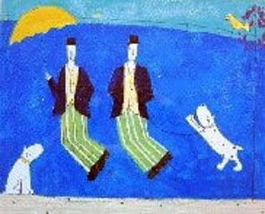 Jumping Men by Annora Spence