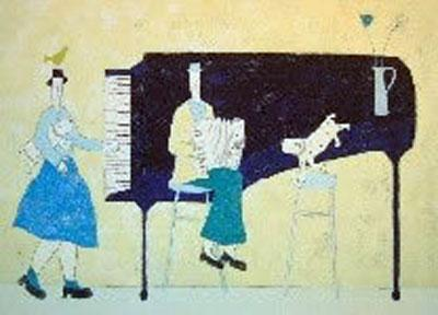 The Piano by Annora Spence