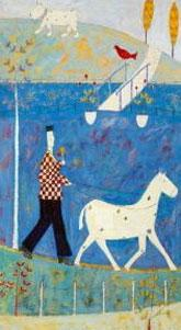 Walking The Horse by Annora Spence