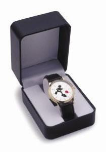 Game Of Life - Watch Round Face by Mackenzie Thorpe