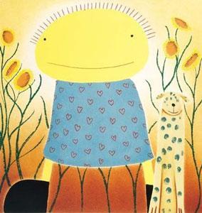 Secret Garden by Mackenzie Thorpe