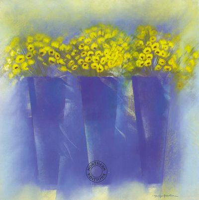 Chrysanthemum Trio by Marilyn Robertson