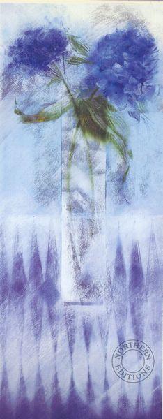 Hydrangea In Blue - Large