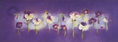 Pansies by Marilyn Robertson