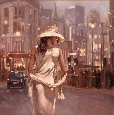 Lady In White - Series by Mark Spain