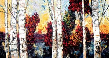 Woodland Textures by Maya Eventov