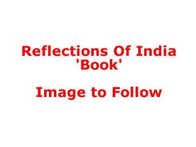 Reflections Of India Book (Standard) by Michael Jackson