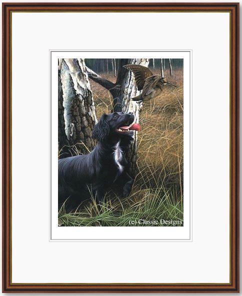 Cocker The Woods - Framed by Nigel Hemming
