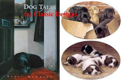 Dog Tales & 2 Limited Editions by Nigel Hemming