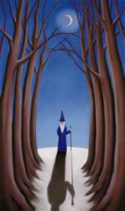 Shadowlands - Mounted by Paul Horton