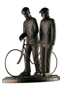End Of The Day -  Resin - Bronze by Paul Horton
