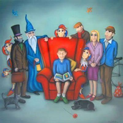 A World Of Imagination - Canvas - With slip by Paul Horton